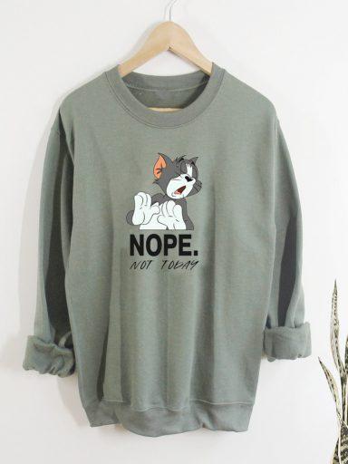 Bluza w kolorze oliwkowym NOPE Love&Live