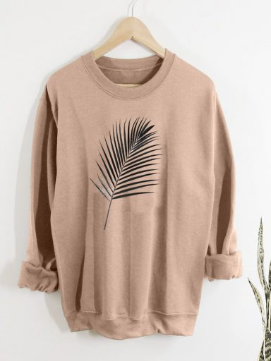 Bluza w kolorze beżowym PALM Love&Live