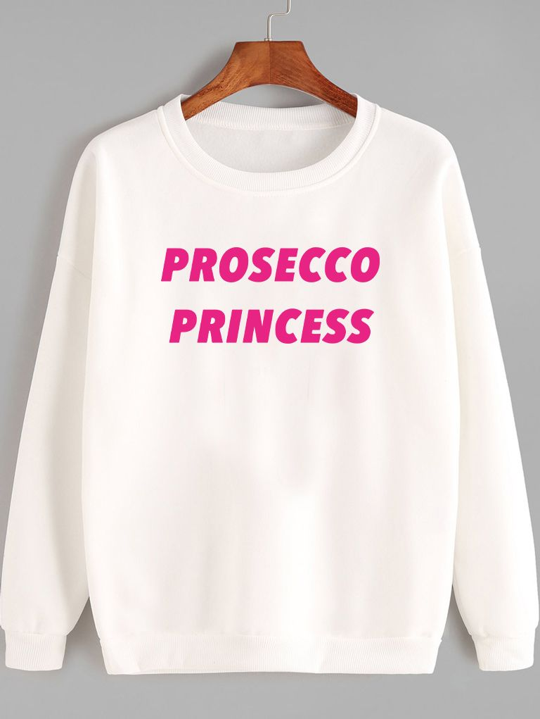 Bluza w kolorze białym Prosecco Princess-2 Love&Live