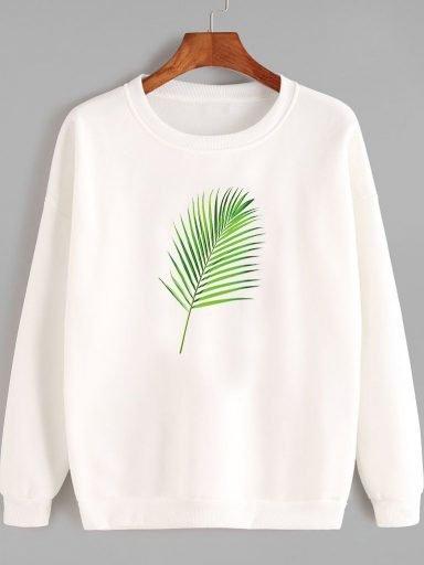 Bluza w kolorze białym Green Love&Live