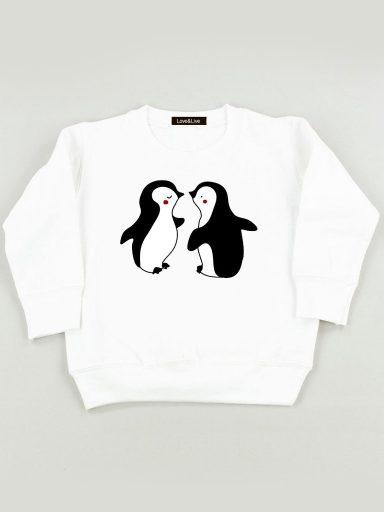 Bluza biała dla dzieci MIŁOŚĆ DZIECI Love&Live