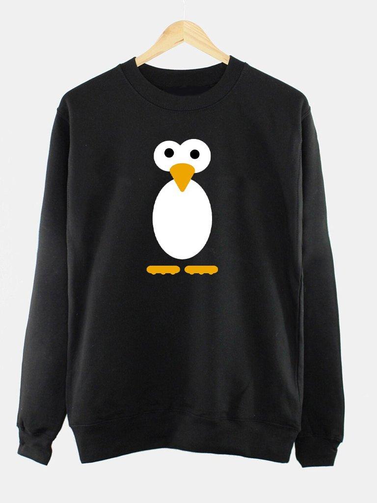 Bluza męska w kolorze czarnym PROSTO PINGWIN Love&Live
