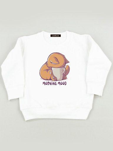 Bluza biała dla dzieci MORNING MOOD Love&Live