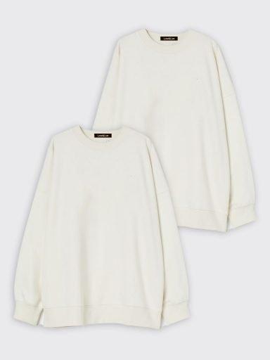 Zestaw białych bluz 2 szt. Love&Live