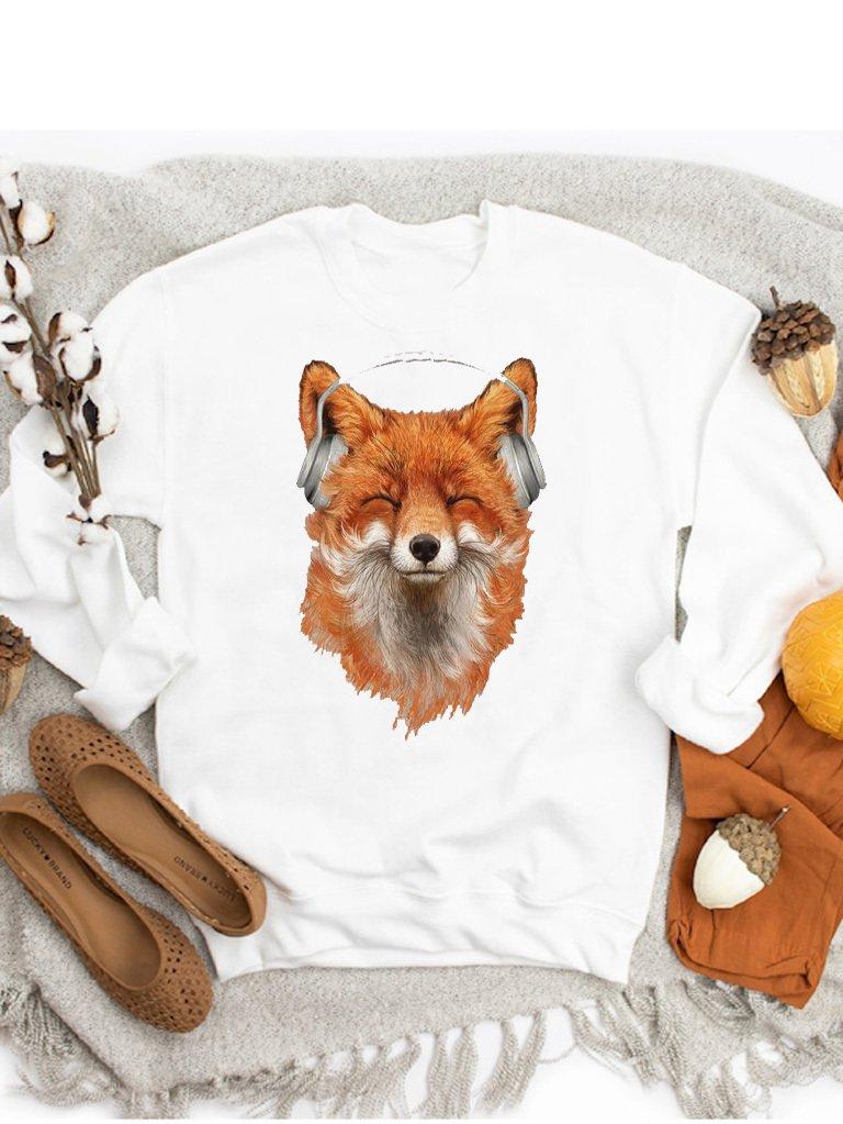 Bluza w kolorze białym COOL FOX ZUZU