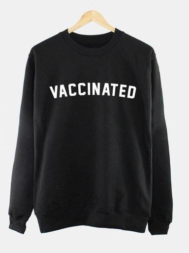 Bluza męska w kolorze czarnym VACCINATED Love&Live