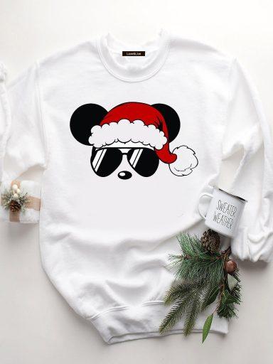Bluza w kolorze białym COOL MICKEY Love&Live